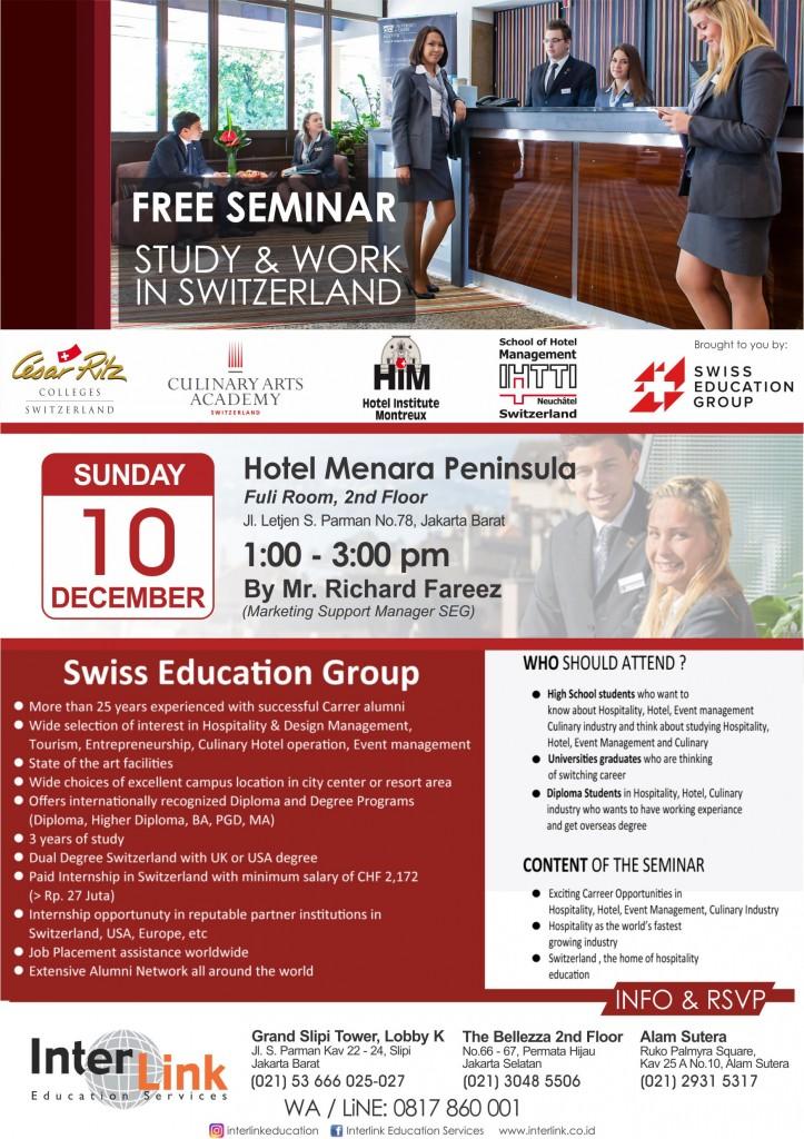 SEG Seminar December 2017 InterLink