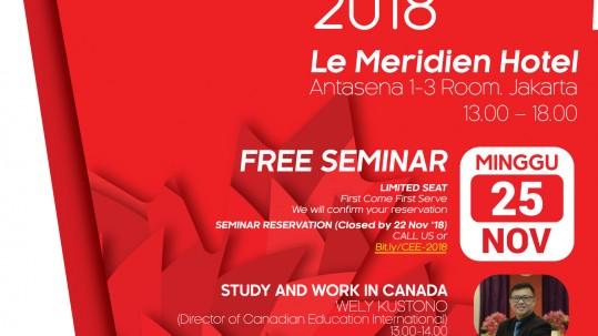InterLink Canadian Education Expo 2018
